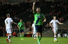 Shane Long on target as Saints thrash Dons, Chelsea teen Kenedy impresses