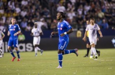 Didier Drogba is really enjoying himself in MLS as he continues his fine form