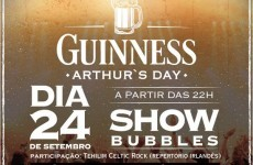 We think we've found the only place in the world still celebrating Arthur's Day