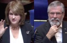 Gerry Adams asked Joan Burton lots of questions – but she just wanted to throw shade