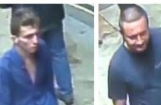 Police want to speak with these men over wallet stolen from man who fell from Derry walls