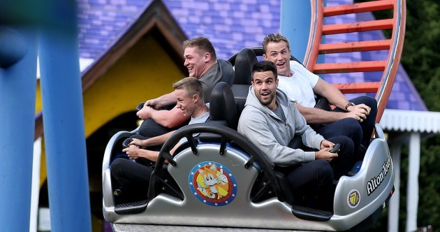 We'll Leave It There So: Ireland visit Alton Towers, Arsenal fans in trouble and today's sport