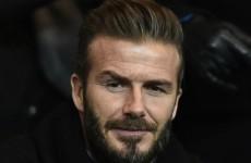 David Beckham: I was never world-class