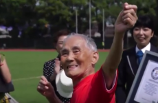 This 105-year-old Japanese man has set a world record for the 100 metre sprint