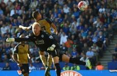 Sanchez hat-trick ends Leicester's unbeaten run