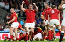 England crumble as Wales power to stunning win in World Cup classic