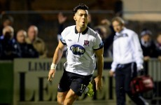 Limerick fans sing 'that's why you're champions' to Dundalk players after comeback