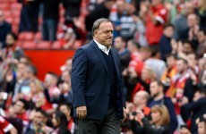 Sunderland boss has a go at one of his own players following loss to United