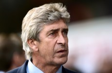 Pellegrini gives admirable response when asked about decisions going against his side