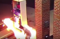 Man tries to burn spider with a lighter… in a petrol station