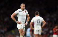 'Tough day, yeah': England's Mike Brown really, really didn't want to talk after that Wales defeat