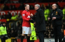 Rooney denies handing in Man United transfer request – but admits rift with Ferguson