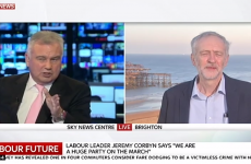"""Let's talk football"" – Eamonn Holmes accused of 'pathetic' interview with Jeremy Corbyn"