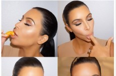 Kim Kardashian revealed her pregnancy craving with some provocative photos… it's the Dredge