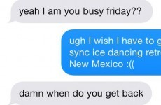 This girl didn't want a second date… but the lad didn't take the hint