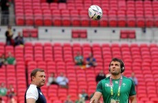 Bruised foot keeping Jared Payne out of Ireland training