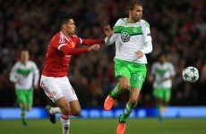 As it happened: Manchester United v Wolfsburg, Champions League