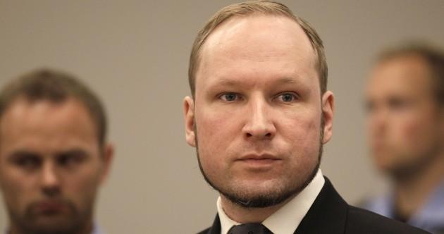 """Mass murderer Breivik vows to go on hunger strike """"until death"""""""