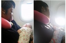 This woman calmed a stranger's baby on a plane, and now she's going mega viral