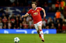Did Juan Mata play his best ever game for Manchester United last night?