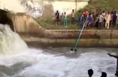 Watch these Sikh men remove their turbans to rescue drowning boys