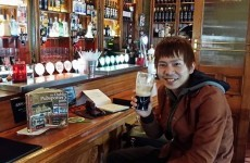 This Japanese man is trying to drink a pint of Guinness in every Dublin pub