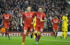 Under-strength Liverpool drop more points in the Europa League