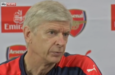 'Stop that story or we stop the press conference' – Wenger hits back at 'boring' media