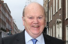 Michael Noonan has a view on when the election should be…