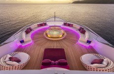 This amazing yacht costs €1 million a week to live on – take a look around