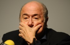 Coca-Cola, McDonald's say Fifa's Blatter must resign now