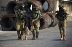 Israeli troops respond to Palestinian protest with live ammunition, tear gas and rubber bullets