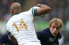 South Africa take control of Pool B with win over Scotland