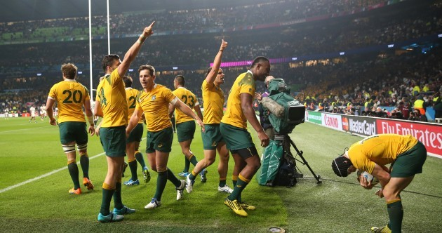 The 'Boks are back and Aussie, Aussie, Aussie! It's the RWC Team of the Week