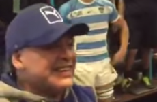 Diego Maradona's little dance in the dressing room is the best thing on the internet today