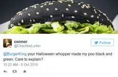 There is a serious problem with Burger King's 'black burger' and people are losing it