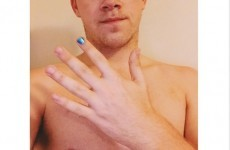 Here's why loads of men are painting just one of their nails blue