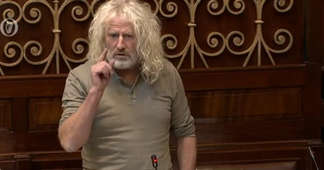 "WATCH: Mick Wallace accuses Enda Kenny of Nama ""cover-up"""