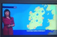 The gremlins were still running riot in RTÉ yesterday evening
