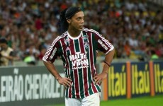 It looks like the end of the road for Ronaldinho — football's ultimate entertainer