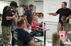 A single dad created a class to help other dads style their daughters' hair