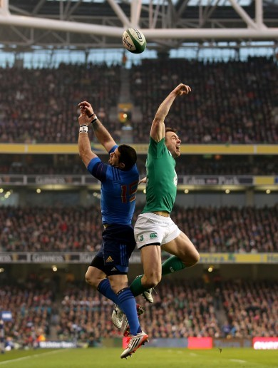 'We're going to get served a lot of high balls' – France await Ireland's kicks