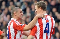 Jonathan Walters couldn't resist this little dig at a German former team-mate
