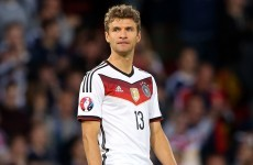 Müller bemoans 'play-acting and a weak referee' following Germany's defeat to Ireland