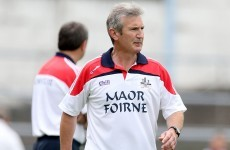 There's a new man at the helm for the Cork senior hurlers
