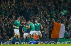 Ireland imperious and come out on top of brutal clash with France