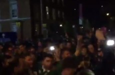 These Irish rugby fans had an epic time on the streets of Cardiff last night