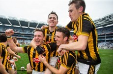 Just a couple of Kilkenny hurlers firing a staple gun at illusionist Keith Barry