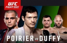 Next week's UFC Dublin card will be broadcast live and free-to-air in Ireland