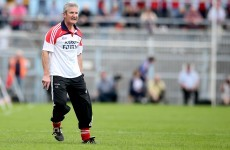 'I am honoured' – Cork's new senior hurling manager can't wait to get started
